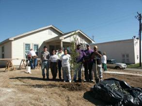 Habitat for Humanity Tree Planting Blitz